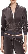 Juicy Couture Black Label Robertson Velour Zip Track Jacket