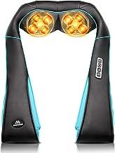 Back Neck Shoulder Massager with Heat - Deep Tissue Kneading Electric Back Massage for Neck, Back, Shoulder, Waist, Foot - Shiatsu Full Body Massage, Relax Gift for Her/Him/Friend/Dad/Mom
