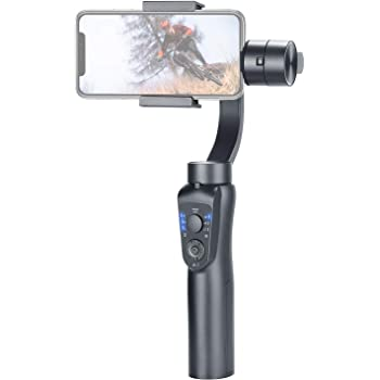 With Tracking Function USB Charging Smart Phone Stabilizer 3-Axis Gimbal Stabilizer Handheld Anti-shake Mobile Phone Holder Suitable For Shooting Videos YoutuBe Vlog