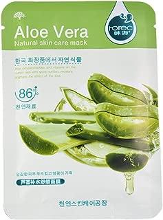 Oshide 10 Stück Gesichtsmaske Mit Aloe Vera-Extrakt Feuchtigkeitsspendende Gesichtspackung