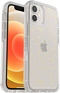 OtterBox Symmetry Clear Series Case for iPhone 12 Mini - WallFlower (Clear/Clear WallFlower Graphic)