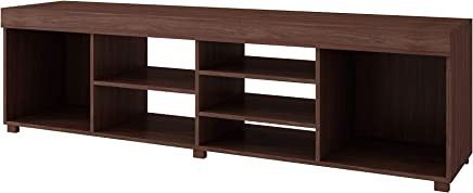 BRV Moveis Wooden TV Table for 55 inch TV, Brown - BR 251-164