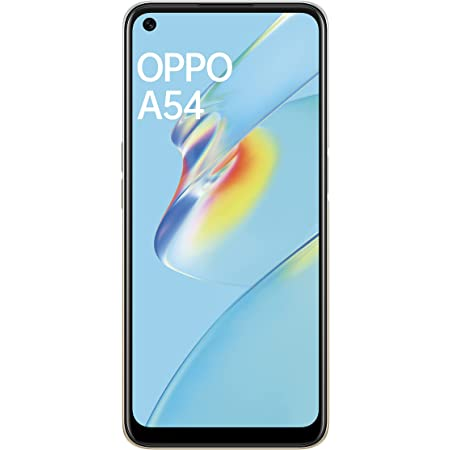 Oppo A54 (Moonlight Gold, 6GB RAM, 128GB Storage) with No Cost EMI & Additional Exchange Offers