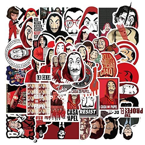 YRBB 50 Stks Nieuwe Film Clown'S Return 2 Amazon Pop Bagage Stickers Super Waterdichte Graffiti Koffer Stickers