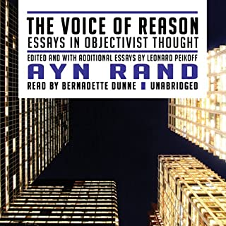 The Voice of Reason audiobook cover art