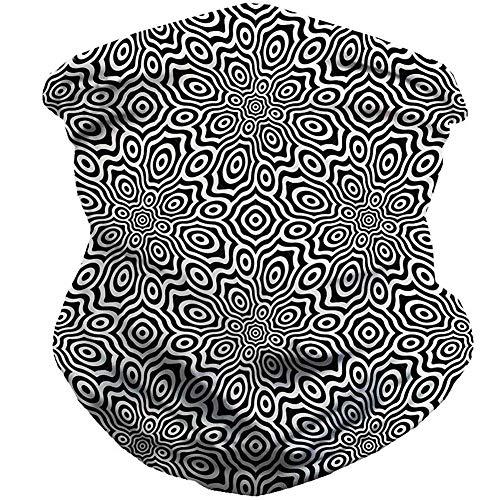 WORISON - Bandana sans couture - Réutilisable - Demi-écharpe lavable - Cagoule de moto - Pour homme et femme, Style 7, 40*25cm