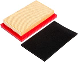 HOODELL 951-10298 Air Filter with Pre Filter, Compatible for Cub Cadet 951-14632 SC100, Kohler 14 083 01-S, MTD 951-10298 and More, Premium Lawn Mower Air Cleaner Kit