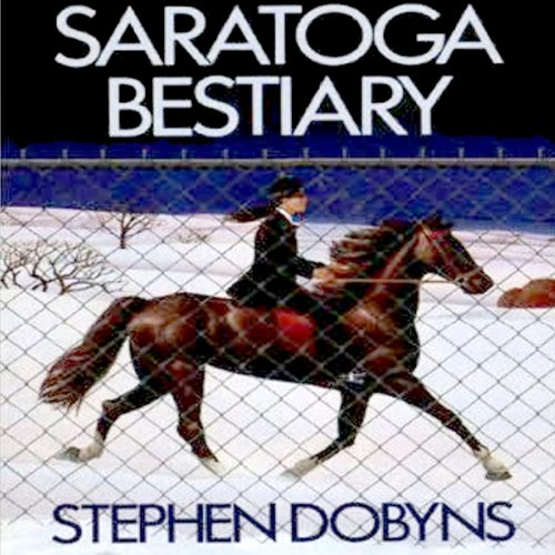 Saratoga Bestiary audiobook cover art