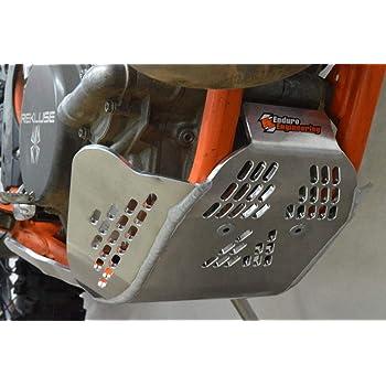 Cycra 1CYC-6202-22 Orange Full Coverage Skid Plate for Honda//KTM