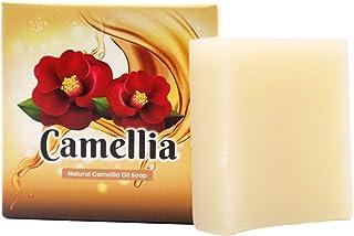 【Amazon限定】つばき油 無添加洗顔ソープ Natural Camellia Oil Soap 【にきび対策?毛穴?黒ずみ?美白?保湿】石鹸一筋18年 日本製