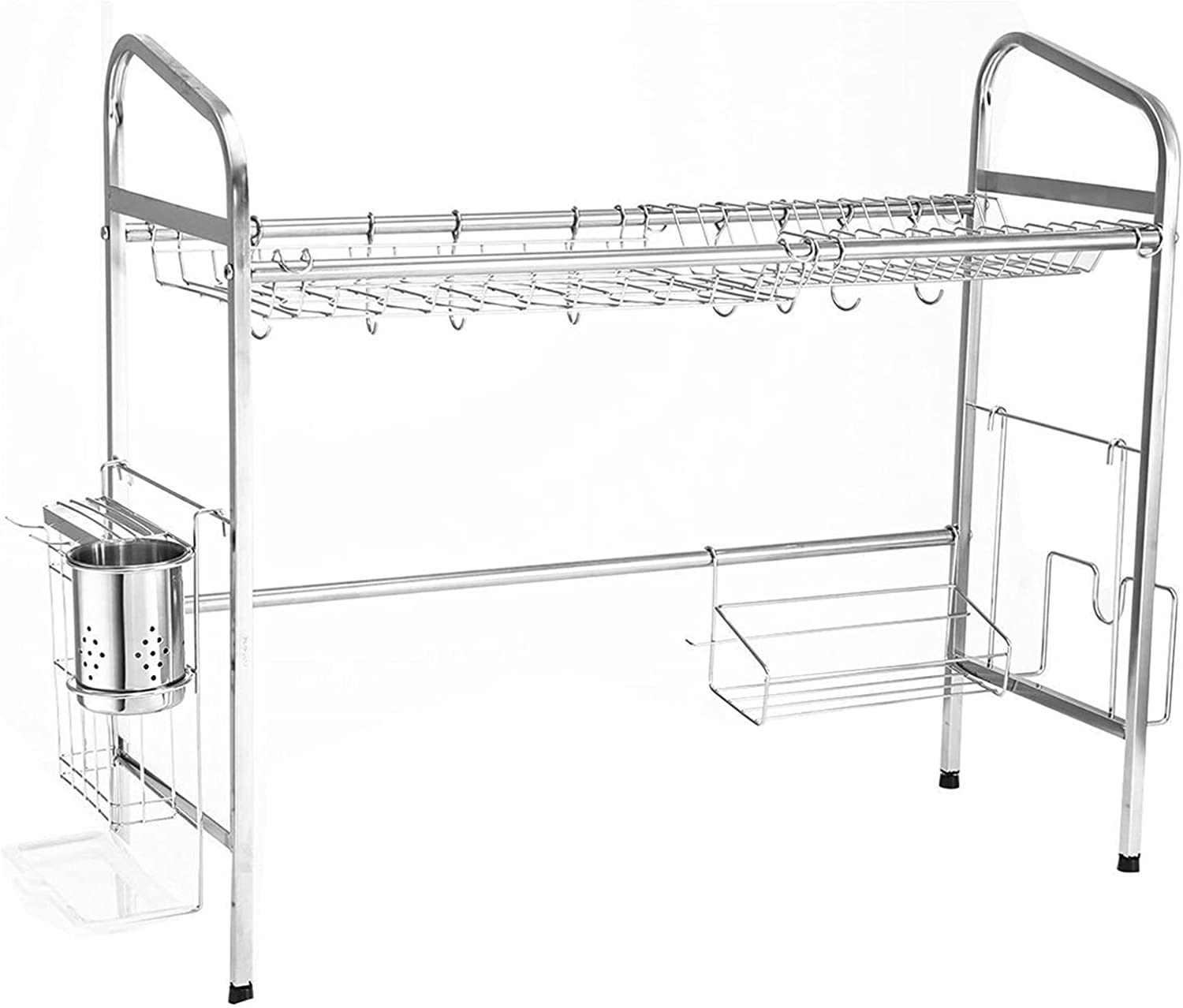 Dish drying Tampa Mall Under blast sales Stainless-Steel-Drainer-Easy-Install-Non-Slip- rack