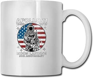NASA Apollo 11 50e anniversaire lune atterrissage tasse de café en céramique idées tasse meilleure famille et cadeau d'ann...