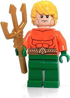 LEGO DC Comics Super Heroes Minfigure - Aquaman with Trident weapon