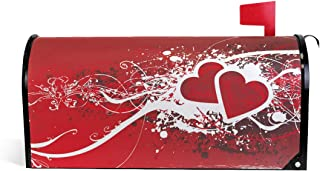 WOOR Valentine's Day Magnetic Mailbox Cover Standard Size-18