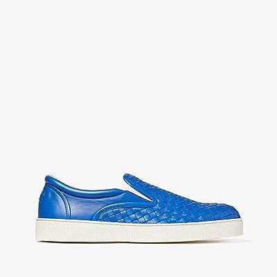 Bottega Veneta Dodger II Slip-On Sneaker (Electric Blue) Men
