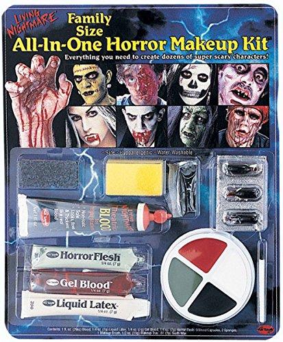 Blue Banana Kit Tout En Un Maquillage Halloween - Horreur (Multicolore)