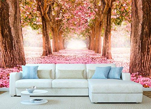 Fotomural Vinilo Paisaje Rosas | Fotomural Pared | Fotomural Decorativo | Vinilo...