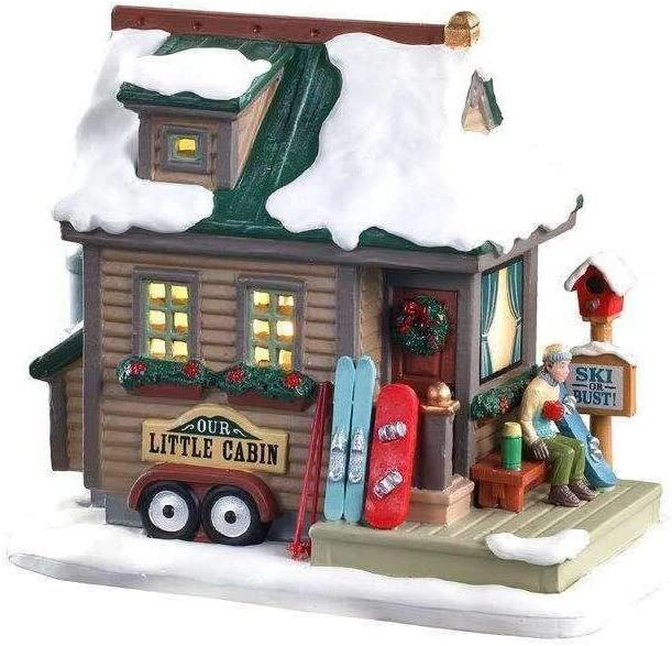 Lemax Village Popular product Collection Home #05619 Away from Phoenix Mall