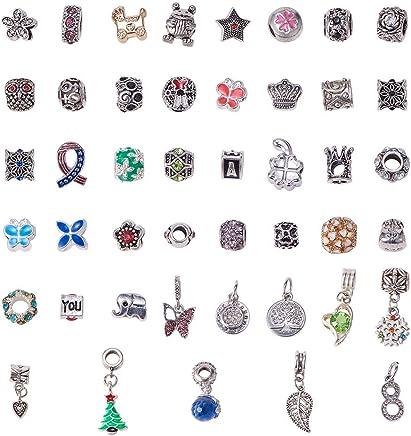 foto ufficiali 66802 a93c9 Amazon.it: Ciondoli Per Bracciale Pandora - Ciondoli ...