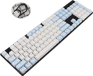 CuXiu ANSI OEM Profile 61/87/104 Key Keycaps Set, PBT Costom Sublimation Keycap for Mechanical Gaming Keyboard Compatible ...