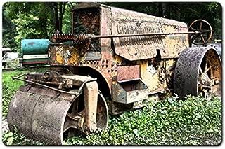 ArtFuzz 18 X 12 Satin Metal Sign - Rusted Buffalo Springfield Roller
