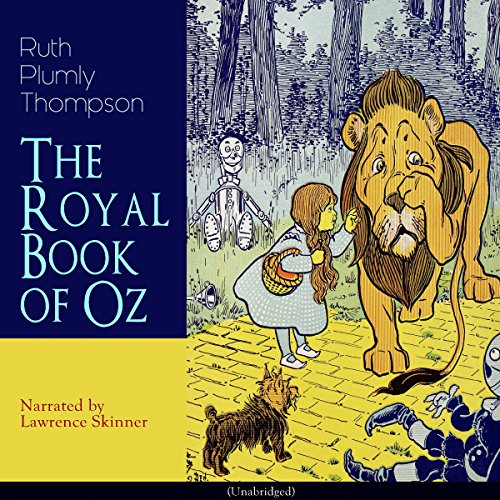 The Royal Book of Oz audiobook cover art