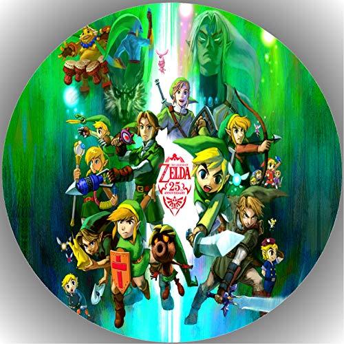 Fondant Tortenaufleger Tortenbild Geburtstag Die Legende von Zelda T7