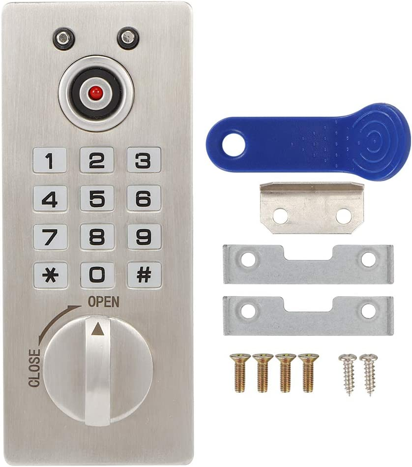 Induction Electronic Lock Set Smart Keypad Digital Pa Codes Financial sales Now free shipping sale