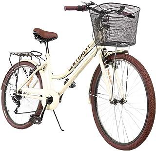 CENTURFIT Bicicleta Estilo Vintage Retro Clasica Urbana 6 Ve