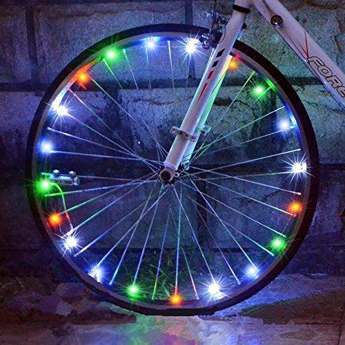 Roue de vélo Azornic Guirlande...