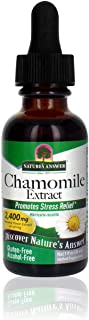 Nature's Answer Chamomile Flower | Super Concentrated Extract | Promotes Relaxation | Alcohol-Free & Gluten-Free 1oz
