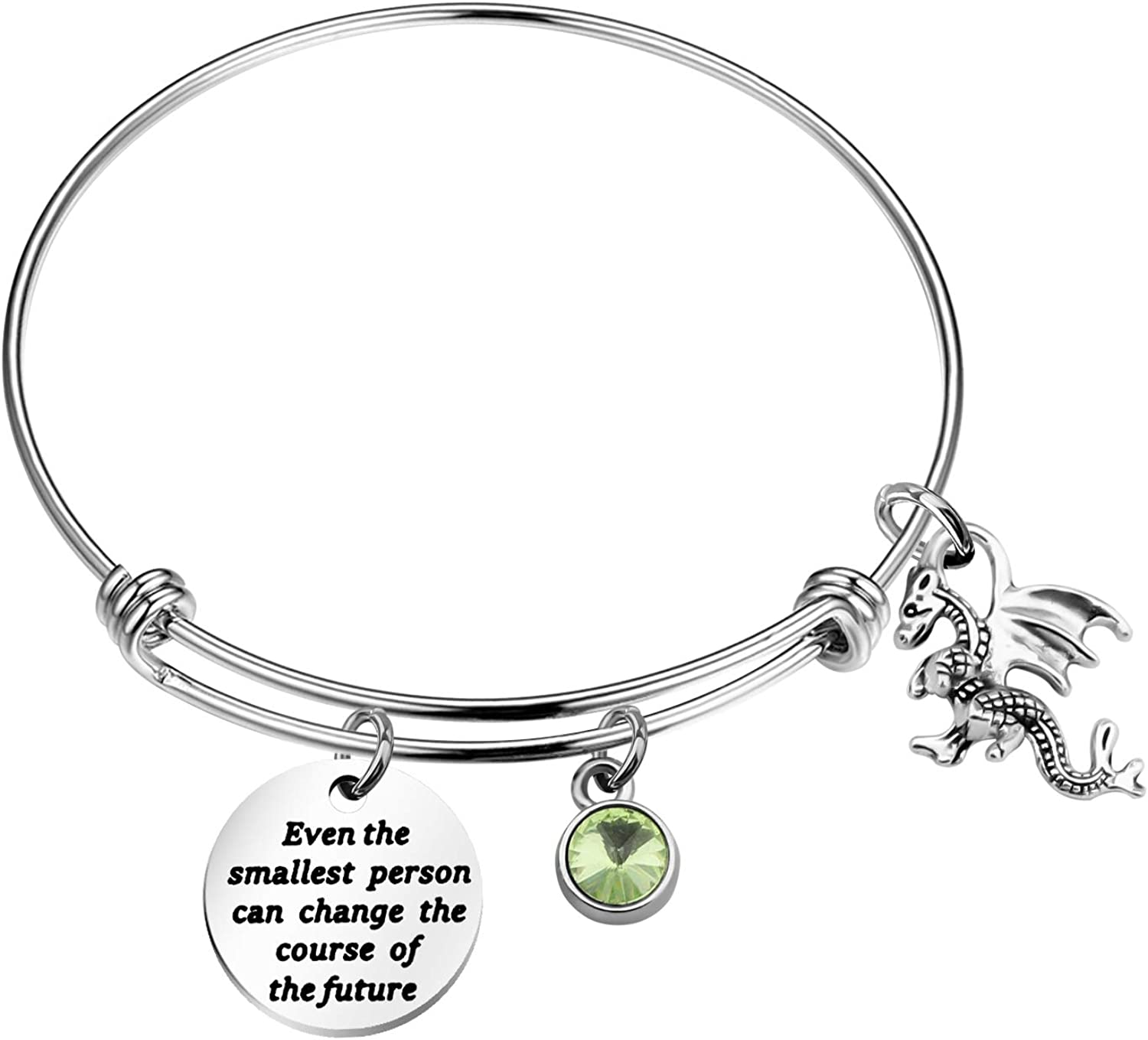 Tolkien Max 72% OFF Quote Max 46% OFF Bracelet Keychain Even Person The Cha Smallest Can