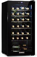 Klarstein Shiraz Uno - cave à vin, températures: 5-18 °C, classe d'efficacité énergétique B, 42 dB, panneau de commande so...