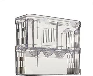 Petzilla Aquarium Fish Breeder Box for Hatchery, Perfect Isolator for Aggressive Fish..