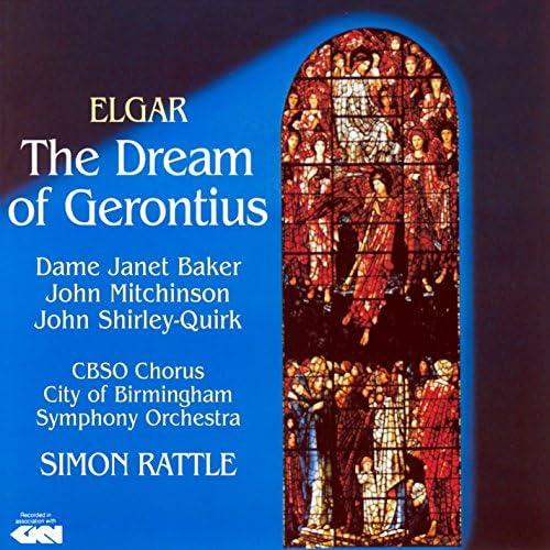 Dame Janet Baker, John Mitchinson, John Shirley-Quirk, Cbso Chorus, City of Birmingham Symphony Orchestra & Sir Simon Rattle