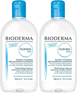 Bioderma Bioderma Hydrabio H2O Hydrating Micellar Cleansing Water and Makeup Removing Solution for Dehydrated Sensitive Skin