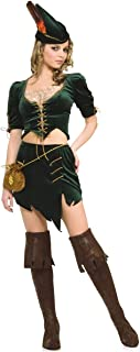 Women's Adult Princess of Thieves Sexy Female Robin Hood Costume