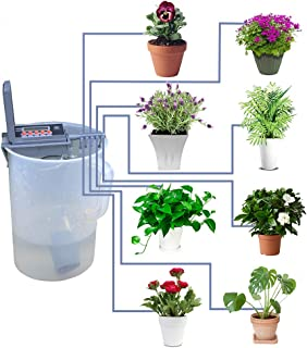 Smart Watering Timer with Automatic Sprinkler System Drip Irrigation Controller, Grey