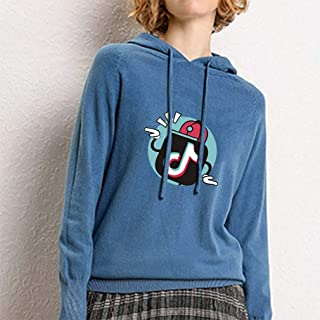 YD-zx Womens Chic Hoodie, Loose Large Size Sweater Digital Printed Long Sleeve Hoodies Pullover Thicken Sweatshirts