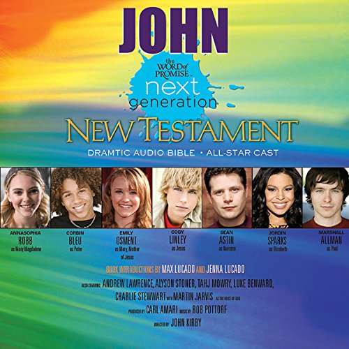 (27) John, The Word of Promise Next Generation Audio Bible audiobook cover art