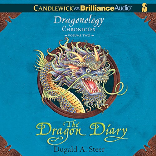The Dragon Diary audiobook cover art