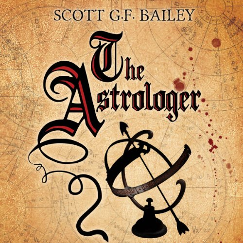 The Astrologer audiobook cover art