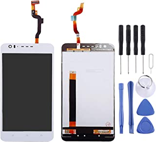 HHM Lin LCD Screen and Digitizer Full Assembly for HTC Desire 10 Lifestyle(Black) (Color : White)