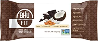 Primal GrassFed Whey Protein Bar Dark Chocolate + Coconut Almond (12 Bars)