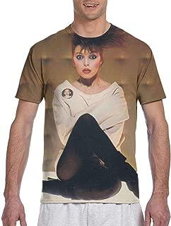 Pat Benatar Get Nervous Mens 3D Printed Short Sleeve Top T-Shirts