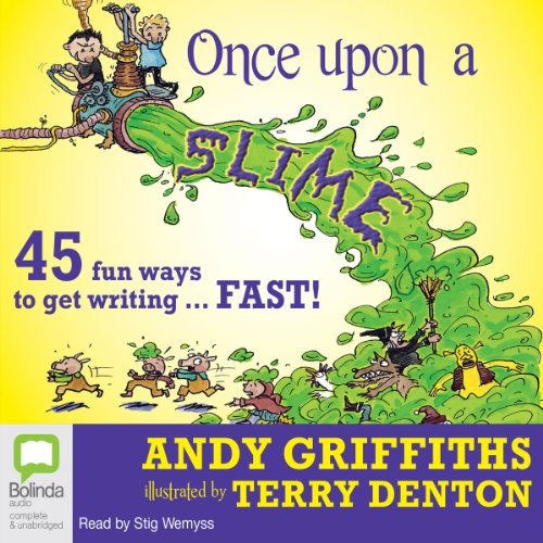 Once Upon a Slime audiobook cover art