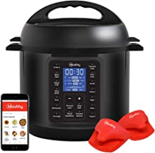 Mealthy MultiPot 9-in-1 Programmable Pressure Cooker with Stainless Steel Pot, Steamer..