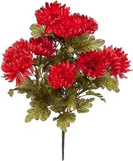OakRidge Artificial Mum Bush Silk Floral Décor