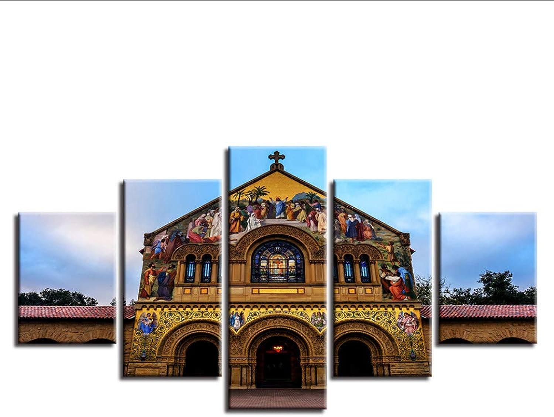 Seleccione de las marcas más nuevas como Guyuell HD Pintura Impresa Arte Moderno de Parojo Fotos Fotos Fotos 5 Unidades Hermosa Vista Nocturna del Edificio Decoración del hogar Cartel Sala de estar-20CMx35 45 55CM,with Frame  autentico en linea