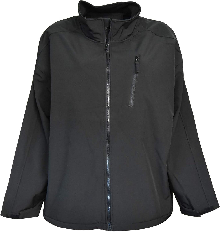 Pulse Mens Big Sizes Soft Shell Jacket Classic